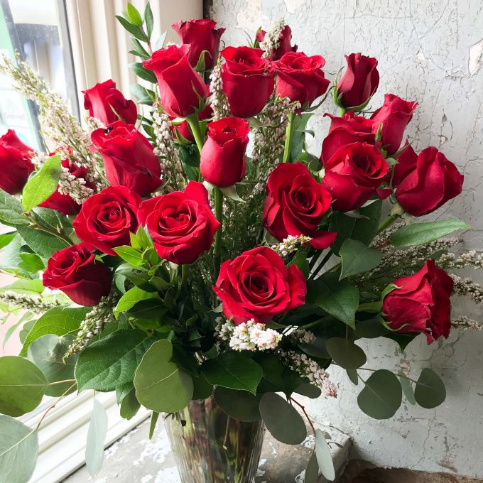 Red Two Dozen Roses
